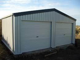 double garage kit steel buildings double garage kit