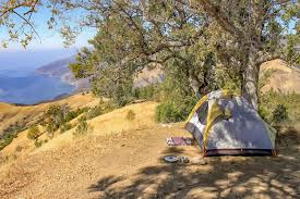 Carpinteria State Beach Campground Map by Big Sur Camping Top Campgrounds Along The Coast