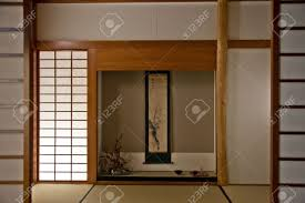 Japanese Room Interior Of A Japanese Room Every Details Are Original Stock