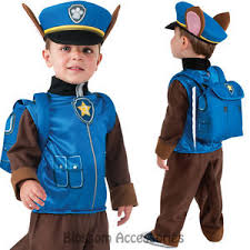 Police Halloween Costumes Kids Ck790 Paw Patrol Boys Chase Cartoon Police Fancy Dress Costume