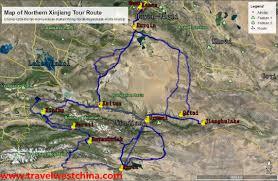 Silk Road Map Maps Of Xinjiang And Silk Road Travel West China