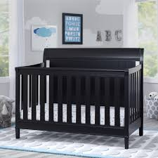 Delta Canton 4 In 1 Convertible Crib Black Cribs With Free Shipping Sears