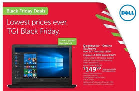 best electronic black friday deals 2016 dell black friday 2015 ad leaks with 149 windows 10 laptop 99