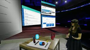 this is microsoft u0027s vision of a holographic office pcworld
