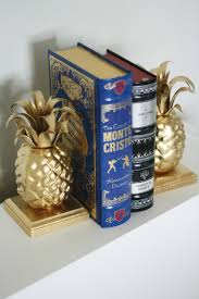 diy pineapple bookends the pretty life girls