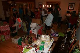 holiday food box fundraiser a rambunctious success