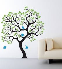 Wall Mural White Birch Trees Baby Nursery Awesome White Birch Tree Wall Decal Removable Bird