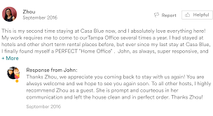 Home Again Reviews by Guest Testimony