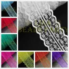 lace ribbon in bulk details about bf01 12 yard bilateral handicrafts embroidered net