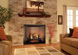 decor brick fireplace designs startling indoor brick fireplace