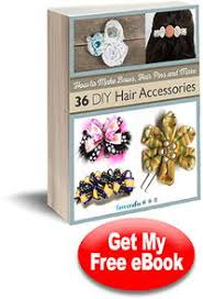 how to make bows hair pins and more 36 diy hair accessories free