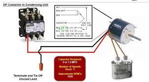 wiring diagram 4 wire condenser fan motor wiring diagram rheem