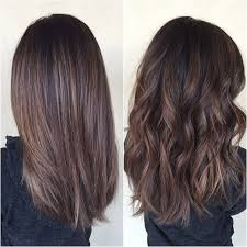 can you balayage shoulder length hair balayage on virgin hair is my favorite love it straight and