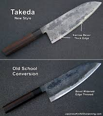 old takeda conversion the kitchen knife fora