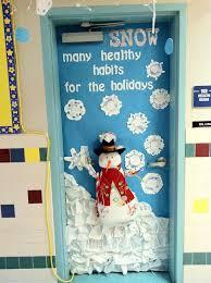 Home Office Door Ideas by Christmas Office Door Decorations 8980