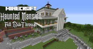 minecraft haunted mansion full youtube