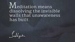 Quotes On Gods Love by Sadhguru U0027s Quotes On Meditation The Isha Blog
