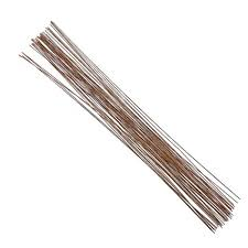 brown floral wire decora 20 brown floral wire 16 inch 50 package