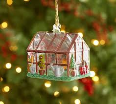 green house ornament pottery barn