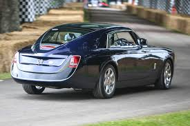 roll royce custom rolls royce bespoke sweptail takes to goodwood hillclimb autocar