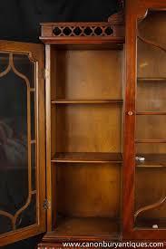 Mahogany Bookcase Victorian Gothic Breakfront Bookcase Mahogany Bookcases