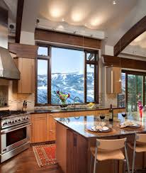 recessed lighting for kitchen mountain view windows kitchen contemporary with track lighting