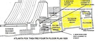 fox theater floor plan joe patten s fox theatre apartment