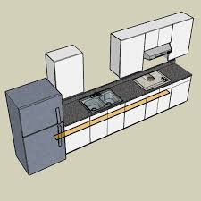 one wall kitchen layout ideas one wall kitchen designs with an island awesome kitchen cabinets