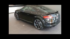 2018 mythos black metallic audi tt rs youtube