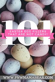 over 101 easter egg filler ideas that are not candy