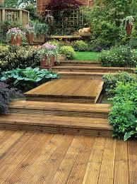 triyae com u003d deck ideas for a sloped yard various design