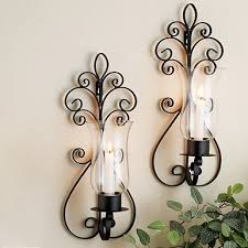 Metal Wall Sconces Metal Wall Sconces For Candles Kirklands 4 93 Best Images On