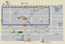 Travel Maps Xi U0027an Travel Maps Printable Hi Res Tourist Map Of Xian China