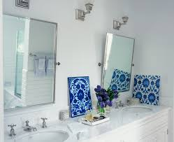 polished nickel mirror bathroom traditional with bath accessories