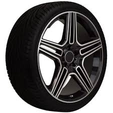 tires for mercedes 20 replica mercedes machine faced black wheel and tire