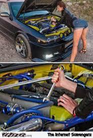 Funny Mechanic Memes - funny female mechanic fail pmslweb