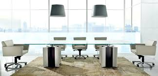 Glass Top Conference Table Glass Conference Table Mjex Co