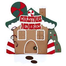 gingerbread house mini album pazzles craft room