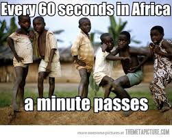 African Baby Meme - every 60 seconds in africa a minute passes funny black baby meme image