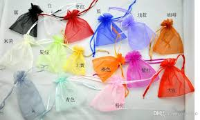 wholesale organza bags small drawstring pouches wholesale mixed organza jewelry gift