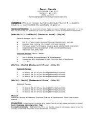 student internship resume template restaurant experience resume resume template for job application restaurant resume examples accounting intern resume template undergraduate internship sample templates for a restaurant job 791x1024