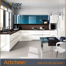 lacquered glass kitchen cabinets modular kitchen cabinet