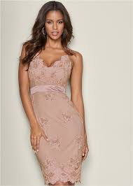 light pink bodycon dress sequin detail bodycon dress in light pink venus