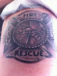 firefighter maltese cross tattoo designs pictures to pin on