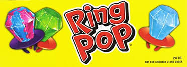 Ring Pop Boxes Bazooka Ring Pop Box 0 50 Ounce Pack Of 24 Import It All