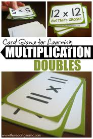 games to memorize multiplication tables card game for learning multiplication doubles