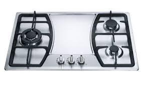 Gas Stainless Steel Cooktop 3 Burner Gas Hob On Sales Quality 3 Burner Gas Hob Supplier