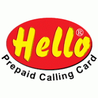 hello prepaid card hello calling cards brands of the world vector logos
