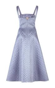 dragon quilted silk dress by temperley london moda operandi