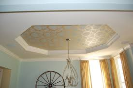 paint ideas for tray ceiling painted tray ceiling with crown